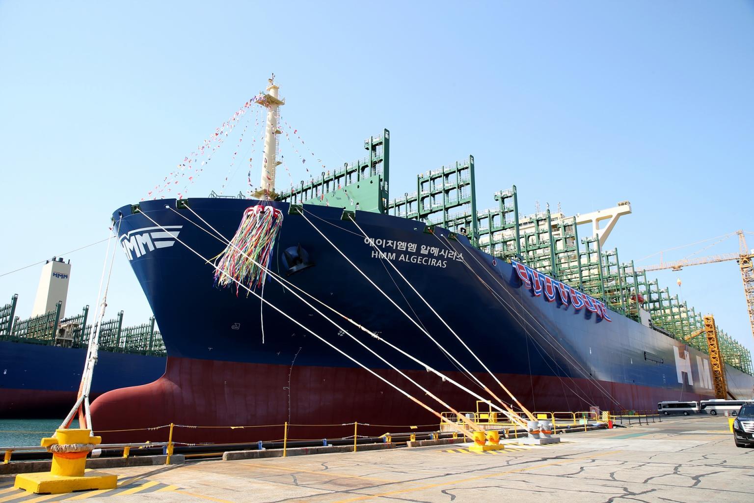 Несмотря на убытки в I квартале 2020 г., HMM получила второй контейнеровоз на 24 тыс. TEU 1
