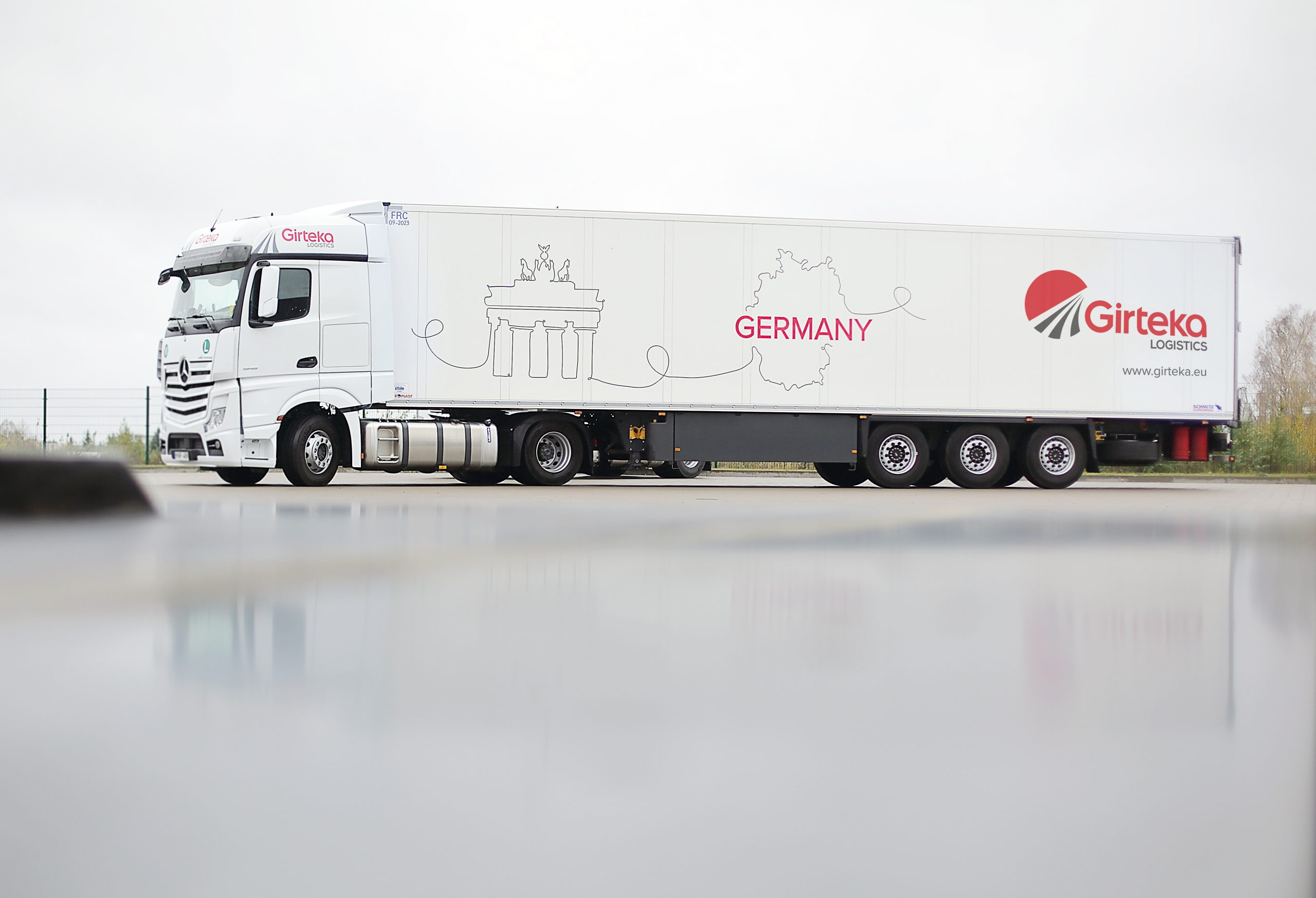 Girteka Logistics обвиняют в незаконном каботаже на территории Норвегии 1