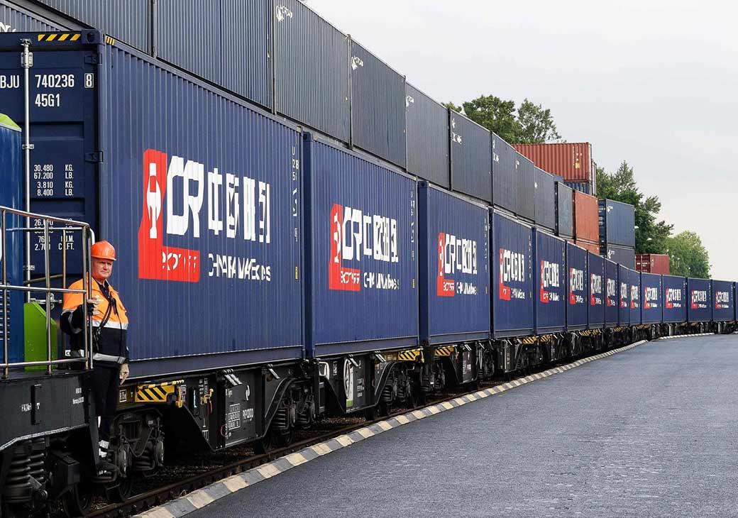 За январь-апрель 2020 г. контейнерные железнодорожные перевозки Китай – Европа выросли на 24% 1