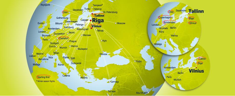 Эстония с 18 мая закрывает авиасообщение с 7 странами, включая Беларусь 1