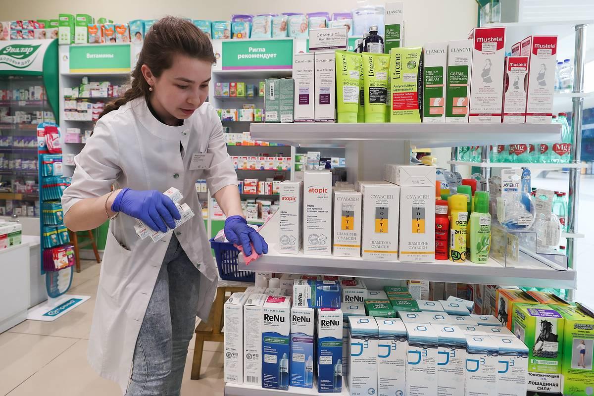 Сбор заказа в аптеке