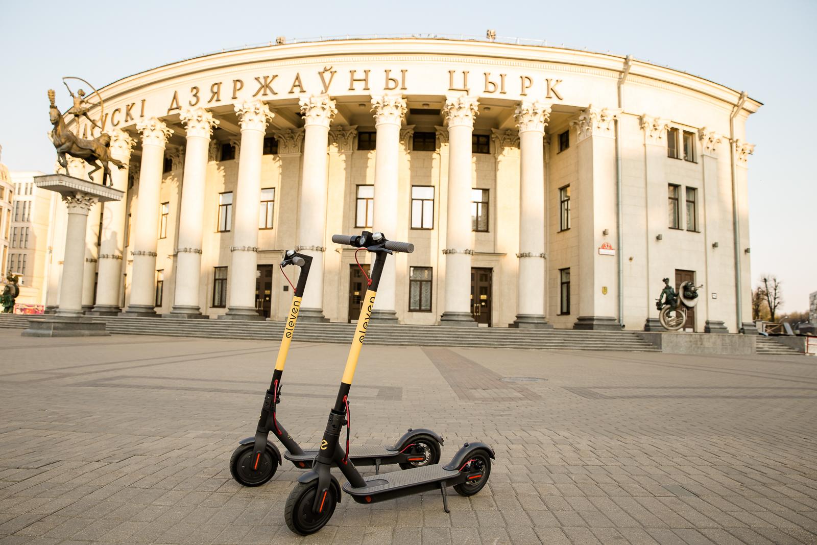 Павел Мыльник о том, как работает шеринг электросамокатов Eleven в Минске 1