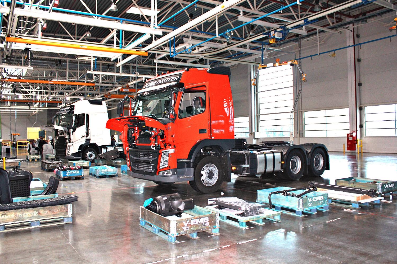 В Европе возобновилось производство грузовых автомобилей 1