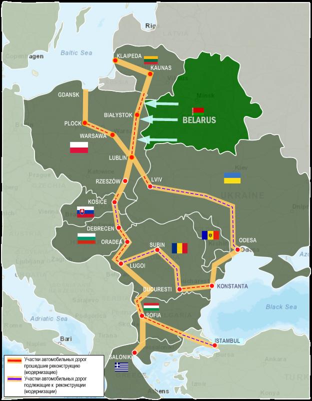 Беларусь проявляет интерес к проекту Via Carpatia 1