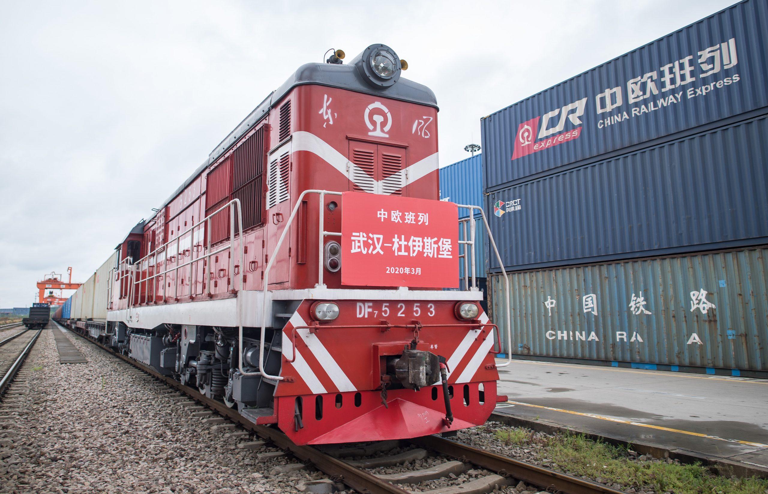 Китай наращивает железнодорожный трафик в Европу 3
