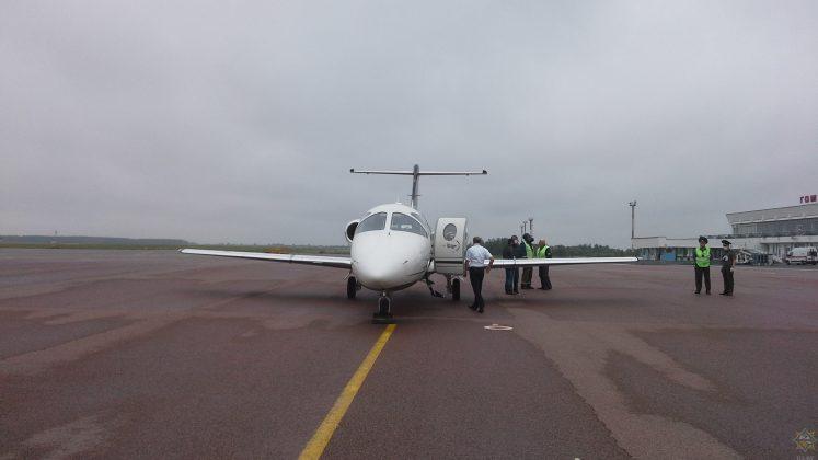 В аэропорту Гомель совершил аварийную посадку самолет ВЕ40 чешской авиакомпании Time Air 1