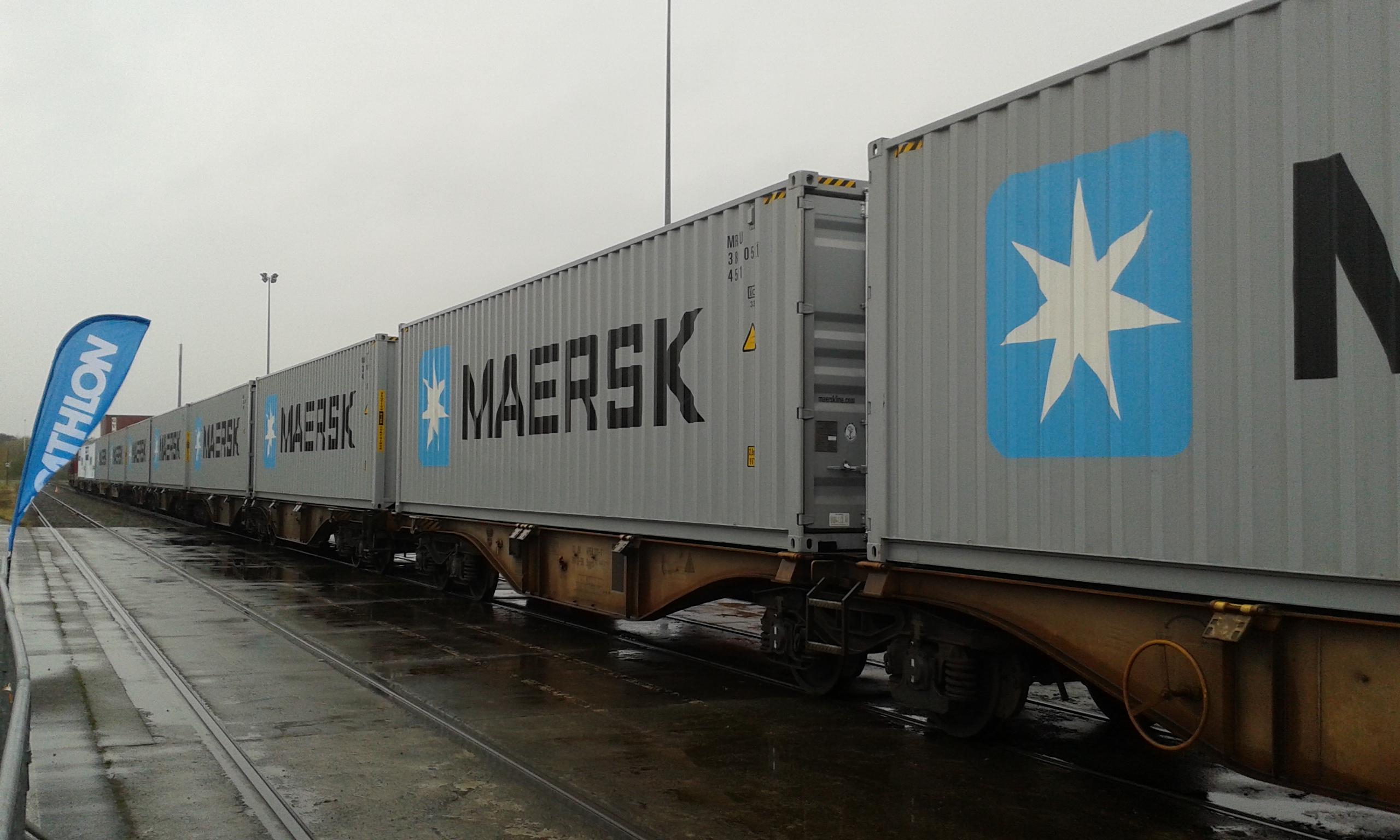 Maersk увеличиевает регулярность интермодального сервиса АЕ19 между Азией и Европой 1