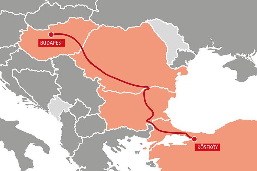 Rail Cargo Group запустила новые интермодальные маршруты из Европы в Китай через Турцию 3