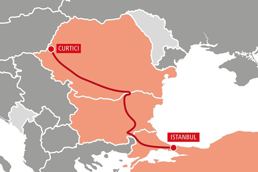 Rail Cargo Group запустила новые интермодальные маршруты из Европы в Китай через Турцию 1