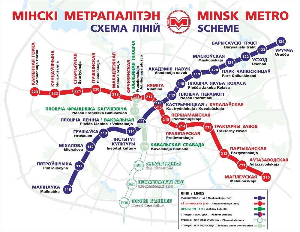 Минскому метро сегодня исполняется 36 лет. Что вы знаете о Минском метрополитене? 1