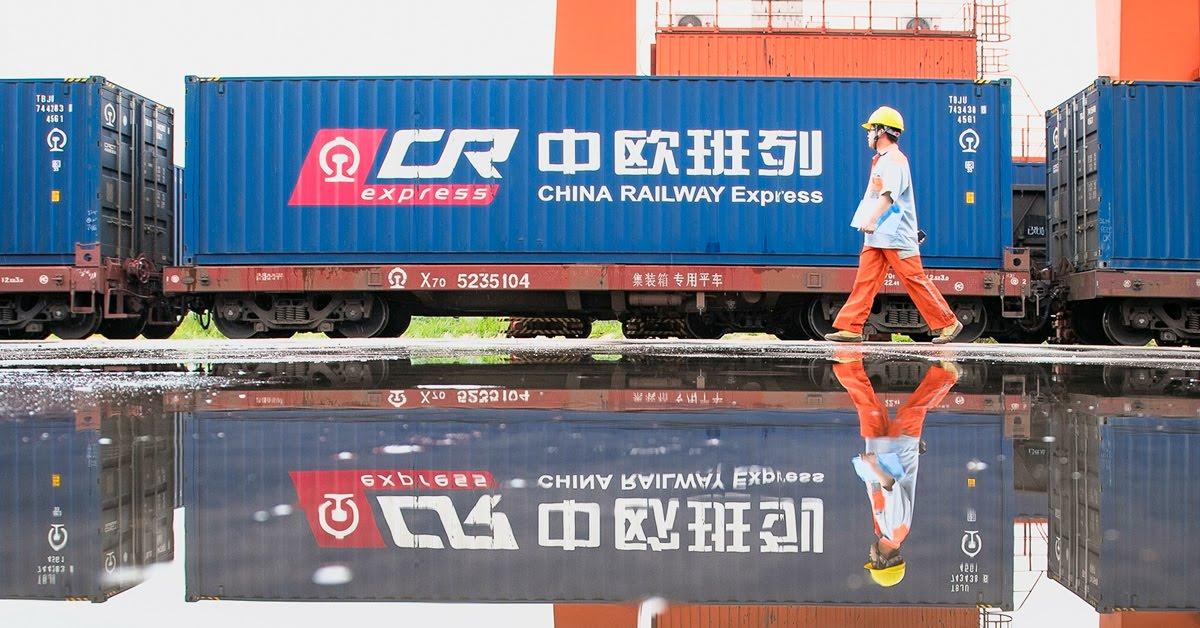 Китай и Европа в мае 2020 г. поставили рекорд по железнодорожным грузовым перевозкам 1