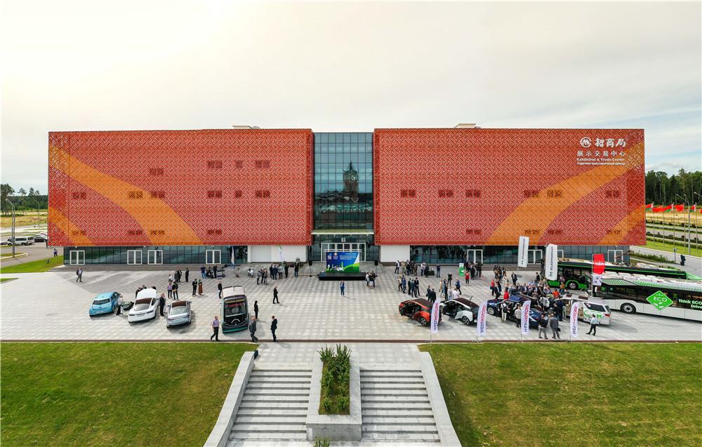 День электротранспорта прошел в Китайско-Белорусском парке «Великий камень» 3
