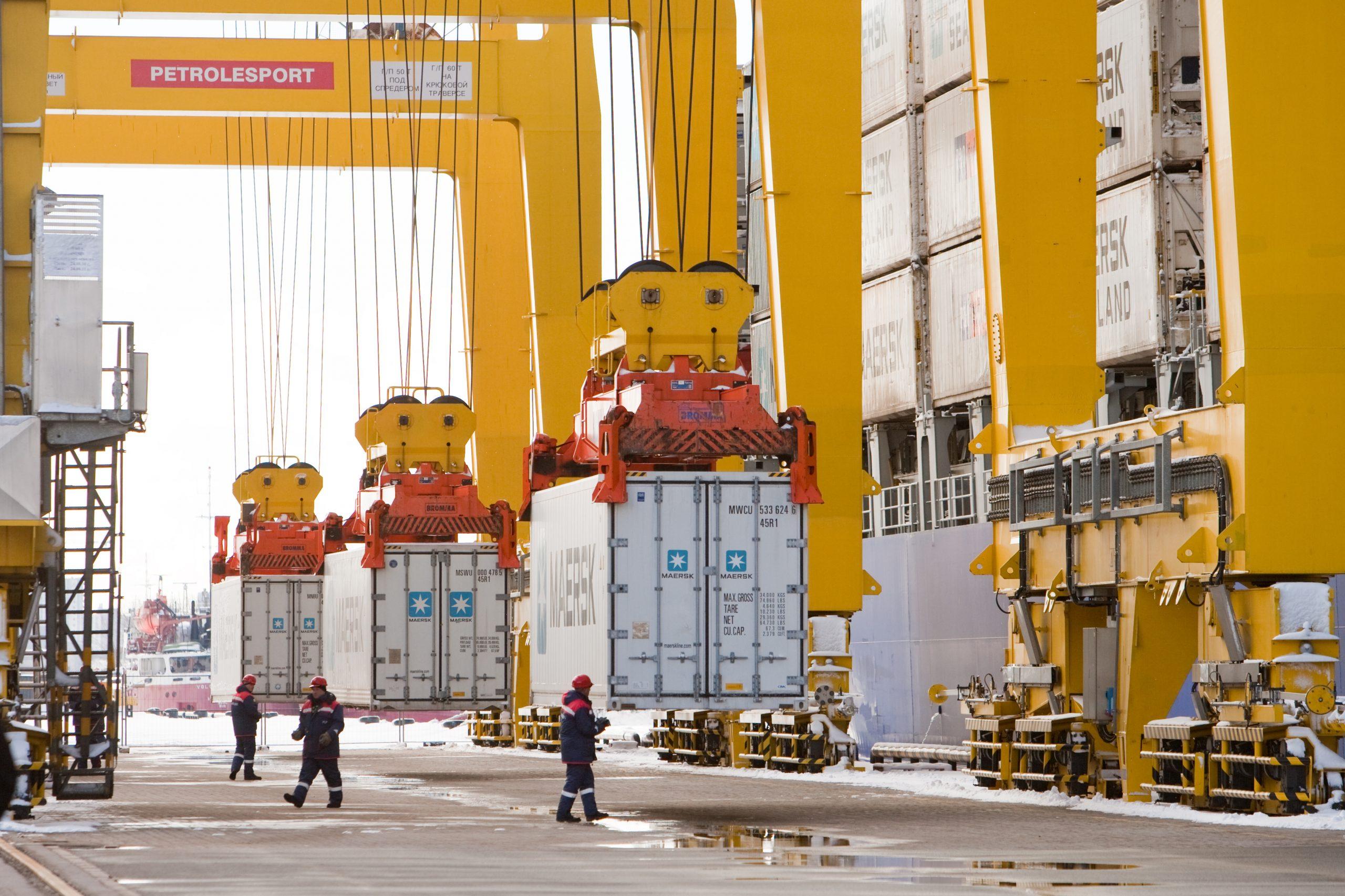 Контейнерооборот морских терминалов Global Ports за I полугодие 2020 г. вырос на 8,4% 1