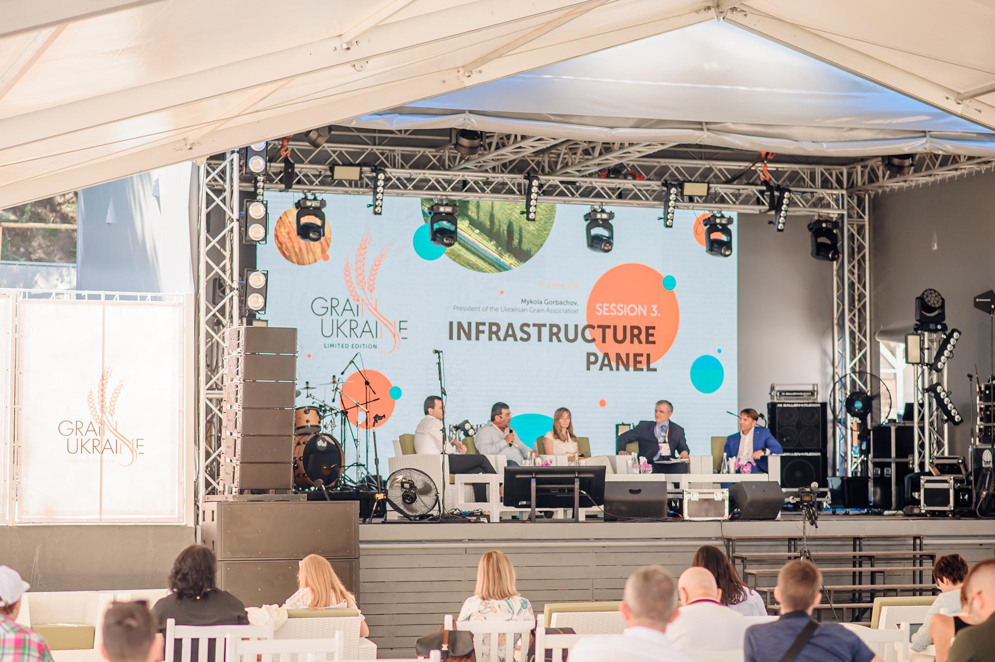 На Grain Ukraine 2020 в Одессе обсуждались вопросы инфраструктурной составляющей и логистики 3