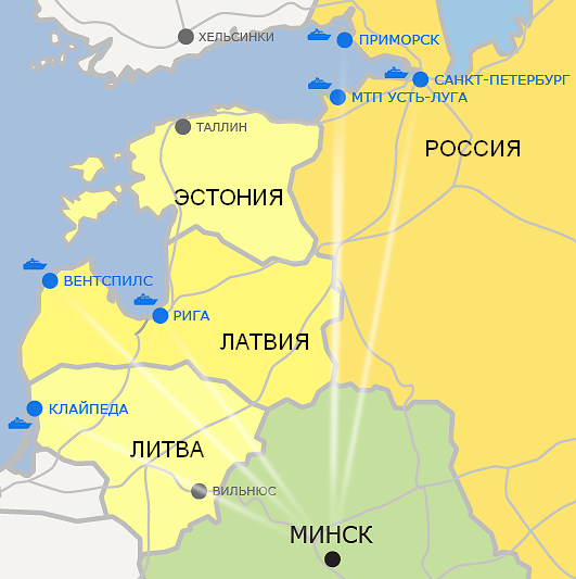 Лукашенко грозит Литве переориентировать потоки с Клайпеды на другие порты  | INFOTRANS