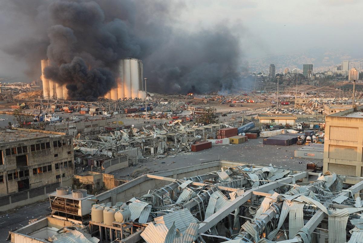 Ливан остался без основной торговой гавани – порта Бейрута, который разрушен взрывом 1