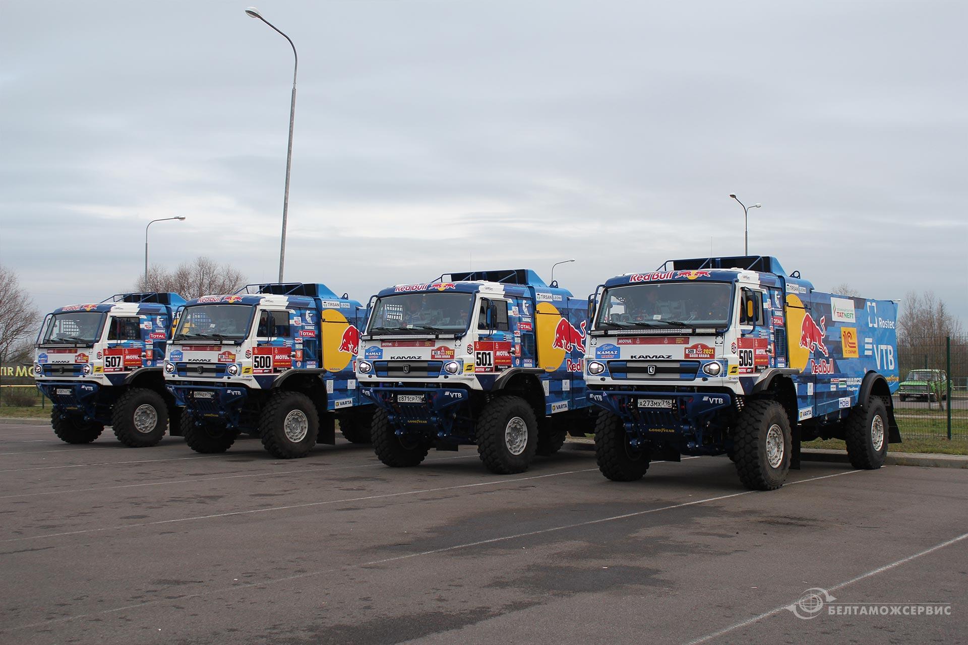 До начала Dakar-2021 остаются считанные дни 3