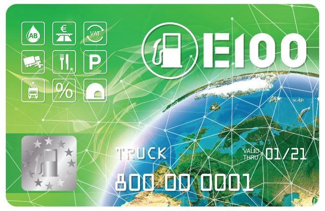 Е100 на рынке эмитентов топливных карт почти 20 лет 1