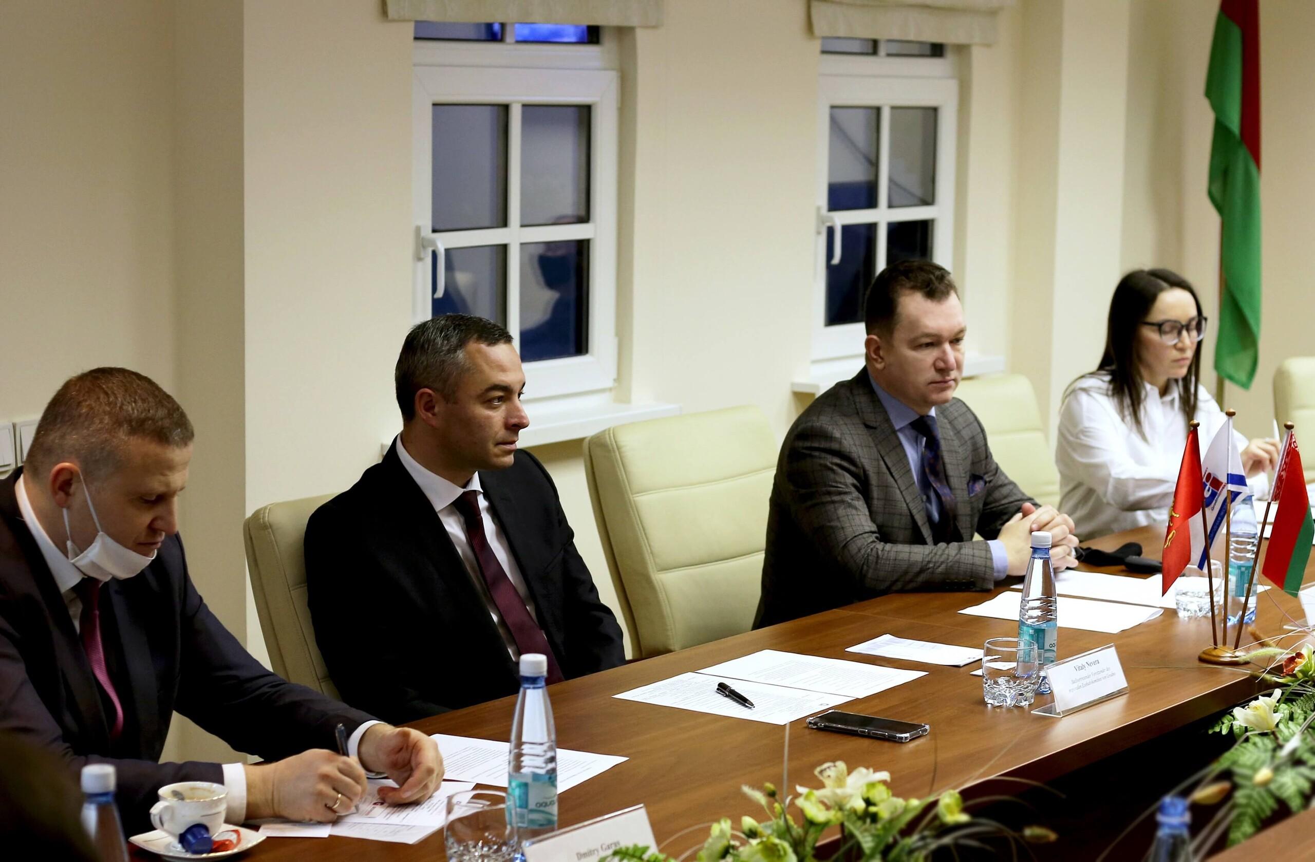 26 ноября 2020 г. немецкая логистическая компания MOSOLF Gruppe посетила СЭЗ «Гродноинвест» 1