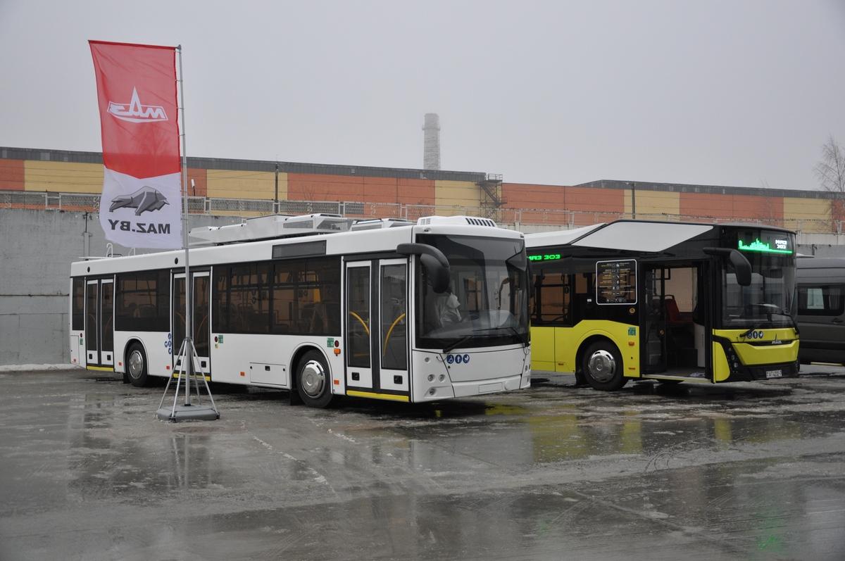 МАЗ открыл новый корпус сборочного производства электротранспорта в Жодино 1