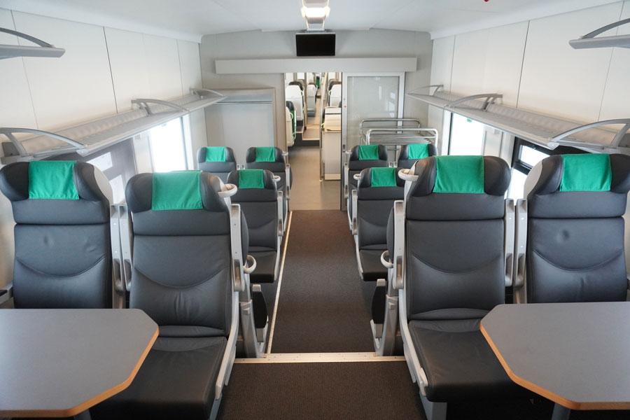 БЖД начала испытания нового пятивагонного электропоезда Stadler межрегиональных линий бизнес-класса 1