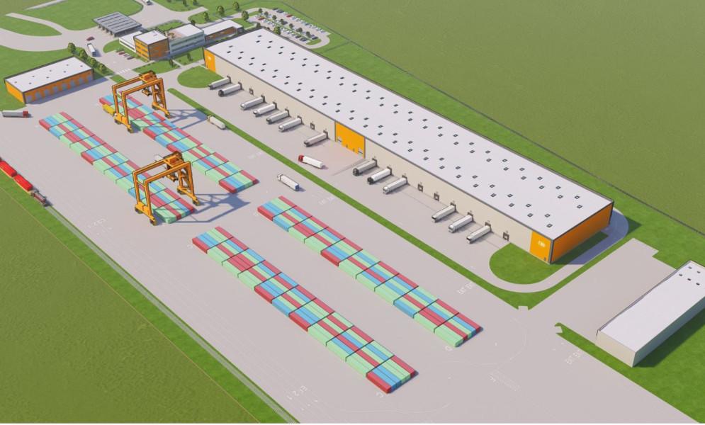 В Венгрии, недалеко от границы с Украиной началось строительство крупнейшего ж/д терминала в Европе 1