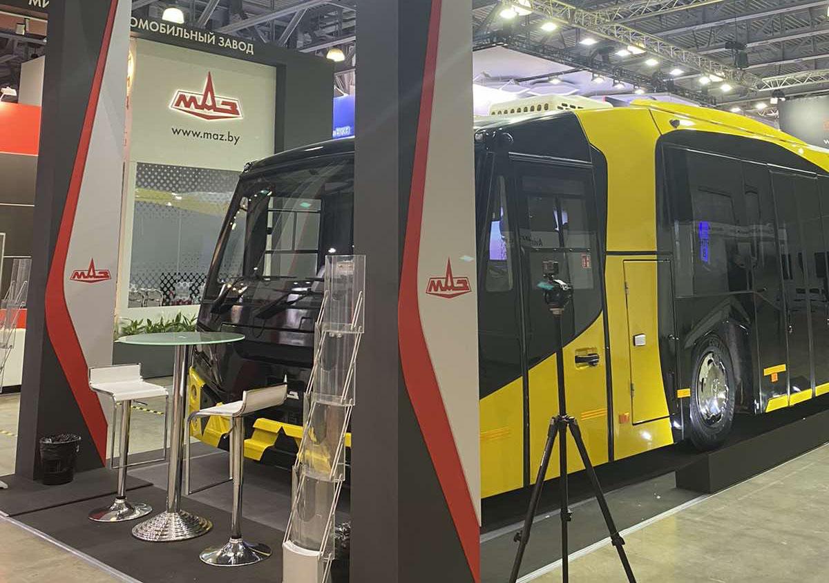 Перронный автобус МАЗ 271. MAZ – единственный производитель перронных автобусов в странах СНГ 3
