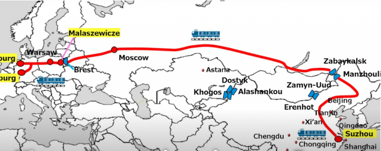 Nippon Express запускает новый поезд Китай-Европа на фоне растущего спроса 1