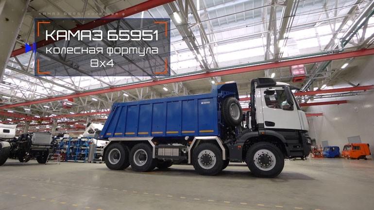 KAMAZ выведет на рынок три новых грузовика поколения K5. Первой моделью станет седельный тягач KAMAZ-65659 1