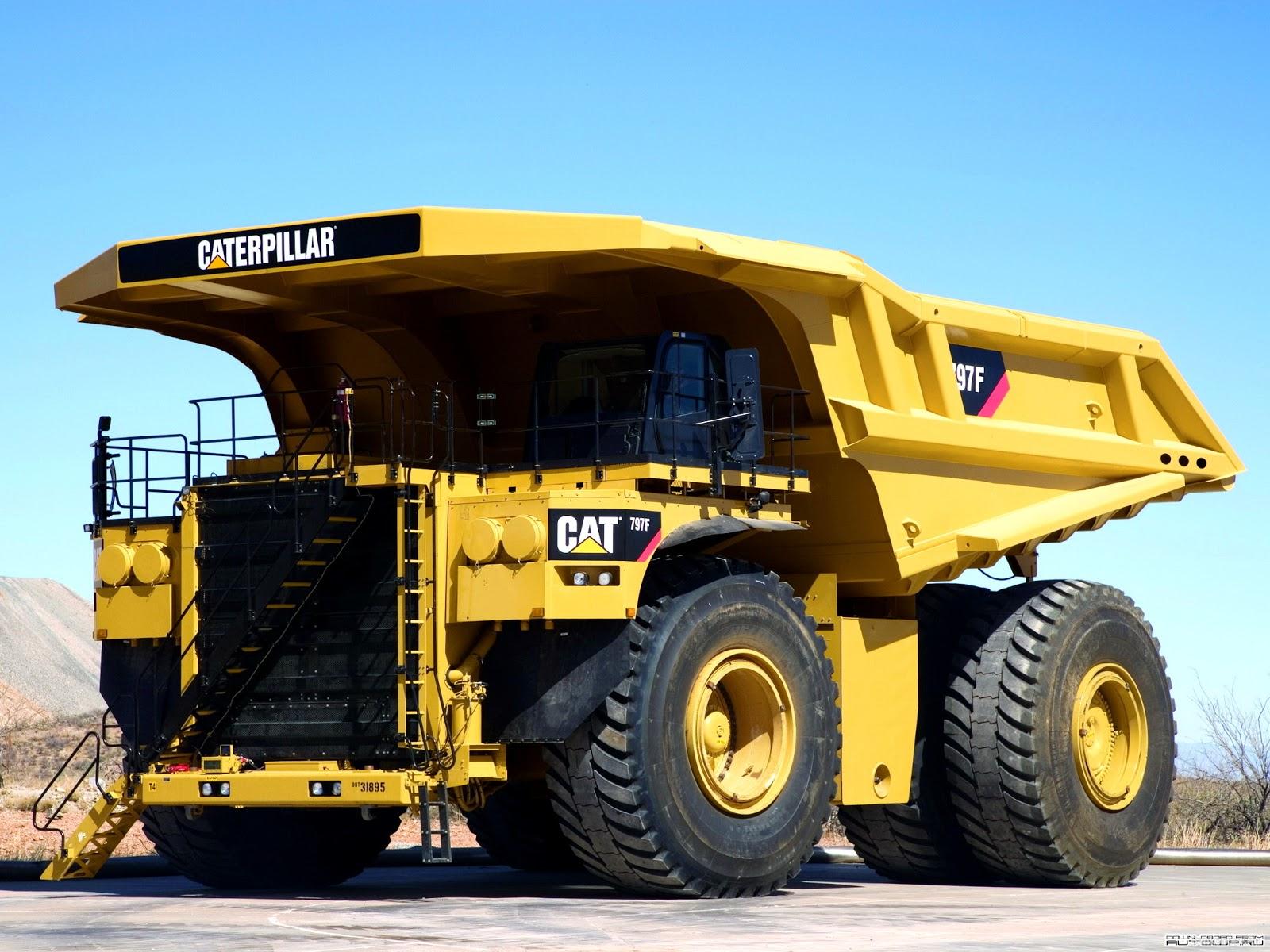 ТОП-3 самых больших грузовиков в мире. На 2-м месте БелАЗ-75710 (450 тонн) 1