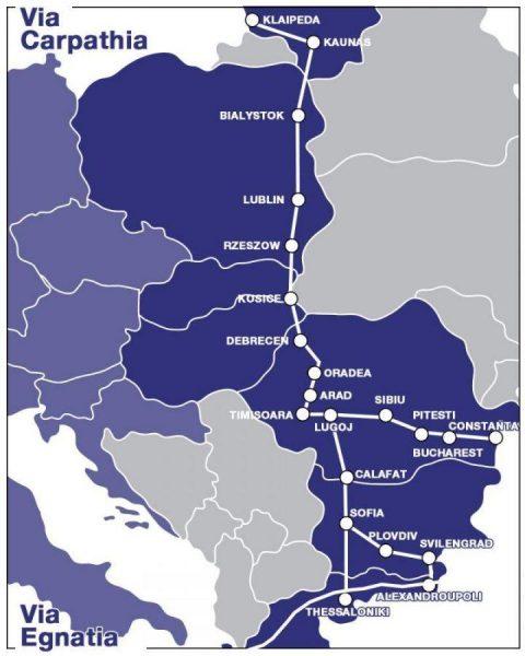 Литва поддерживает стремление Польши развивать маршрут Via Carpathia и хочет соединить его с проектом Rail Baltica 1