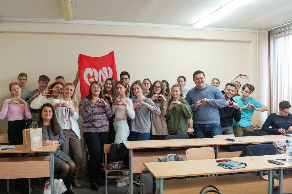 ГлавДоставка посетила университеты Минска с целью помочь будущим логистам разобраться в тонкостях их работы 1