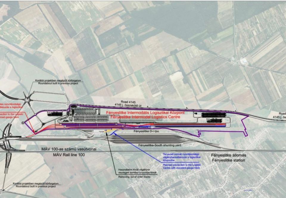 Новая ж/д ветка соединила интермодальный терминал на границе Венгрии и Украины с европейской ж/д сетью 1