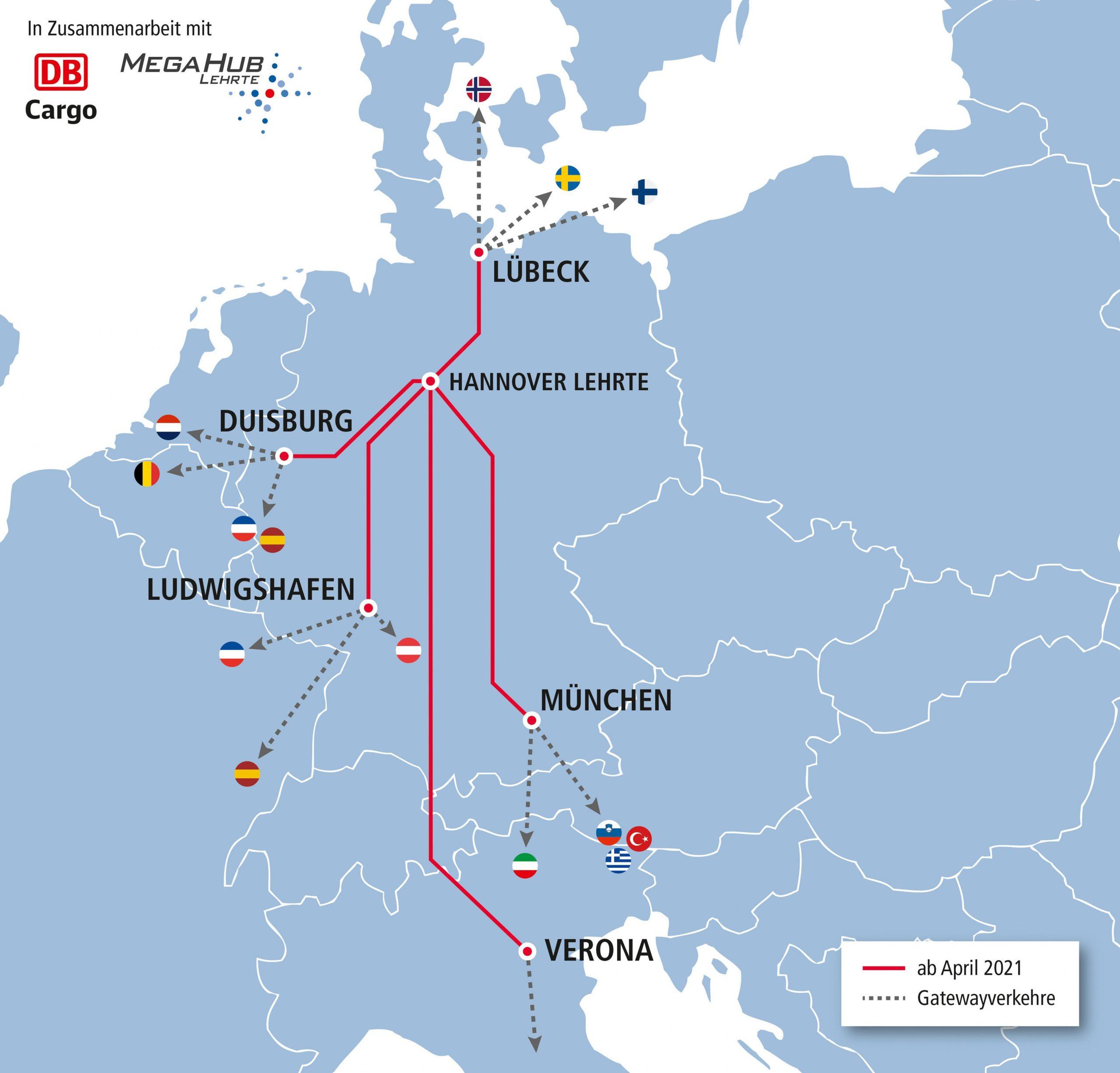 Первый поезд Китай-Европа прибыл на терминал MegaHub Lehrte (Ганновер) 1
