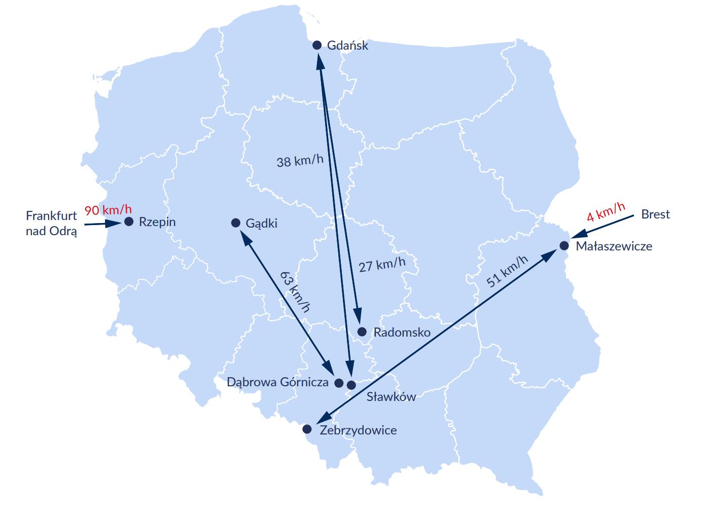 Объем перевозок грузов железнодорожным транспортом в Польше снизился из-за пандемии 3